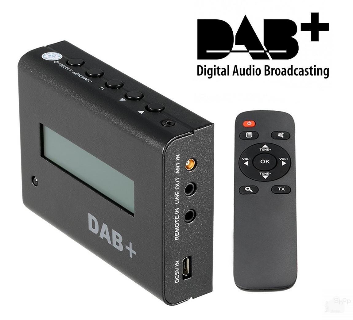 Kit Digitale Audio DAB DAB Radio Ricevitore con Antenna per autoradio Android