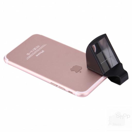 Lente addizionale prisma rotazione inquadratura riprese 90° universale per smartphone tablet web cam