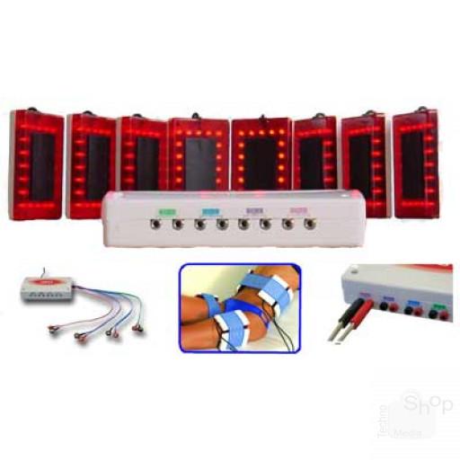 IRD Device Infrared Miapharma Biosan trattamenti Infrarossi 8 diffusori universali x tutti gli elettrostimolatori