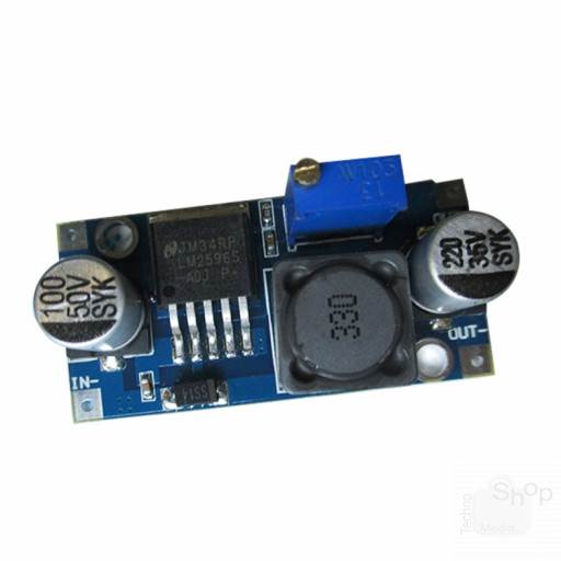 Modulo DC-DC regolatore riduttore di tensione ingresso 4,5 - 35V out 1,25 - 30V corrente 3A voltage regulator