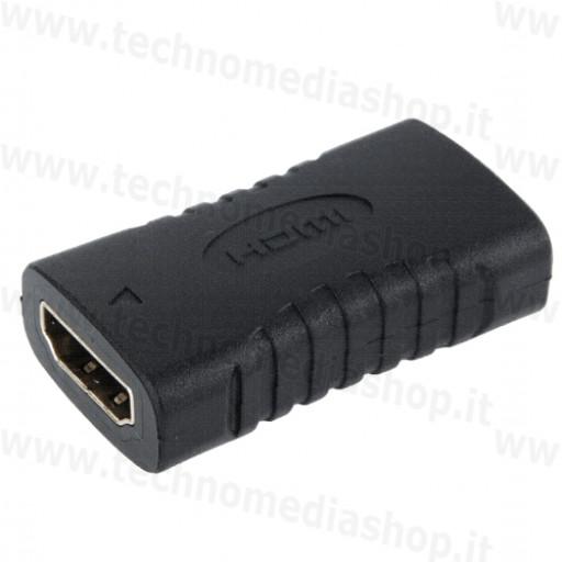 Connettore per giunzione collegare cavi hdmi femmina femmina audio video HD FullHD