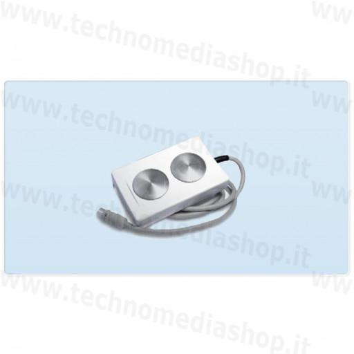 Diffusore per ultrasuoni a doppia testina, compatibile con Bisonic Sonimed e con tutte le macchine ad ultrasuoni