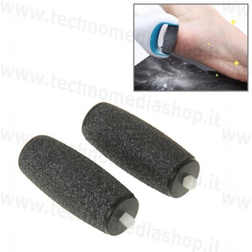 2 testine rullini di ricambio compatibili per Velvet soft pedicure kit ricarica  roll cristalli b60f3ffd233
