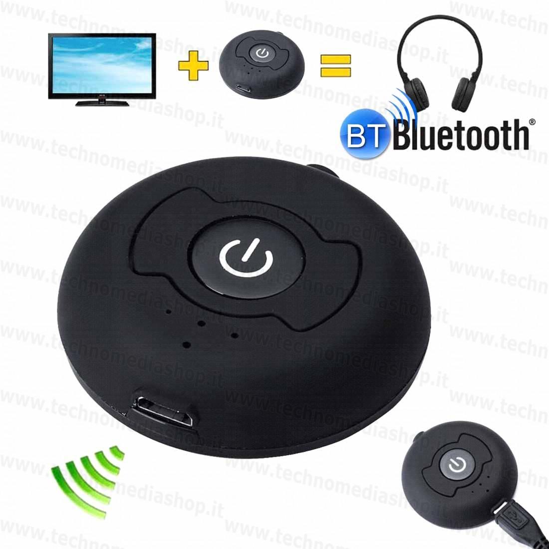 ... Trasmettitore BlueTooth Audio stereo Transmitter multi point per Tv Mp3  Cuffie con pila litio 5v usb ... 4b4b0335897c