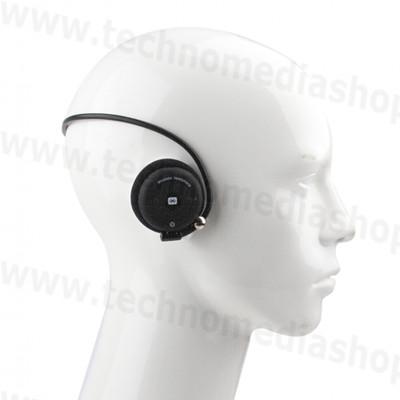 Cuffie Bluetooth alta qualità sport flessibili EverE stereo Musica  telefonate colore nero ... e16210afea1a