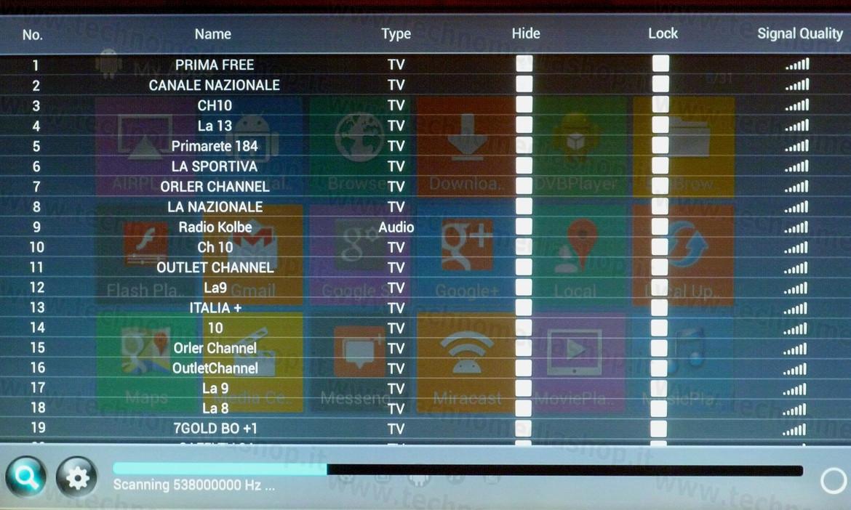 LTf16 - Mini PC Smart TV Box Android 4 4 Quad Core con Ricevitore Tv/Radio  DVB-T2 Player Recorder videoregistratore
