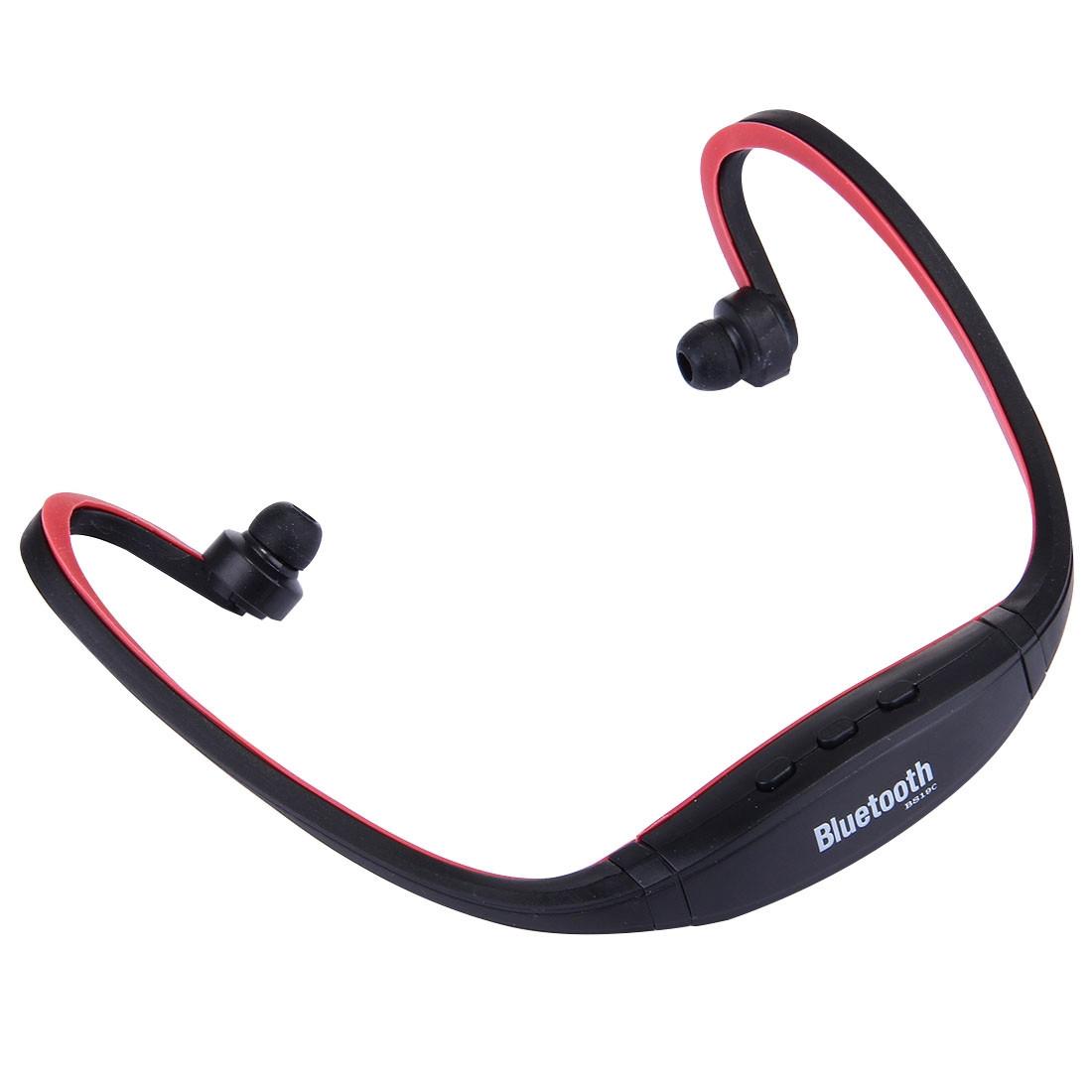 Cuffie auricolari sport bluetooth headphones ricevitore radio fm mp3 player microsd vivavoce - Cuffie per sport ...