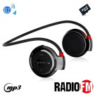 Cuffie auricolari sport Bluetooth 4 alta qualità Radio FM mp3 player MicroSD telefonate mic e comandi integrati