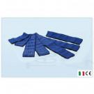 7 fasce elastiche velcro fiab universali elettrostimolazione elettrodi fasciature 2x40cm; 2x60cm; 2x100cm; 1x120cm