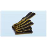 Kit di 6 Fasce conduttive a strappo per elettrostimolatore con clip 4mm