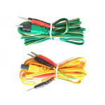Kit 2 cavi di ricambio per elettrostimolatore Tesmed  te 780plus te780-b plus Max 5 830 power 7.8 4 poli a spinotto