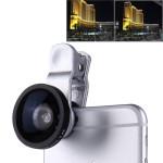 super Lente Grandangolare aggiuntiva 0,40x 120° smartphone tablet webcam aumenta campo inquadratura selfie