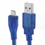 Cavo MicroUSB -> USB, maschio-maschio 1,5m