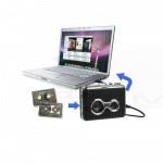 Walkman Convertire trasformare da Audio cassetta in Mp3 con Usb per pc