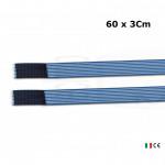 2 fasce elastiche altezza 3Cm lunghezza 60Cm elastic bands fissaggio a strappo per elettrodi stimolazione ionoforesi