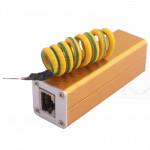 Protezione da Sovratensioni Fulmini e campi magnetici RJ45 presa di rete lan ethernet ip camera