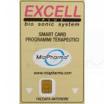 Smart card scheda magnetica programmi terapeutici per ultrasuoni  Excell Sonimed miapharma
