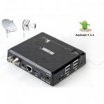 Mini PC KIPRO Android 7.1 S905D 2Gb 16Gb Ricevitore TV Dvb-T2 S2 C 4K Wifi 2.4/5G Bluetooth Videoregistratore smart tv