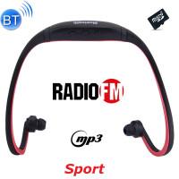 Cuffie auricolari Sport Bluetooth headphones con ricevitore Radio FM mp3 player microSD vivavoce telefonate