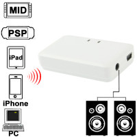 Ricevitore Audio Stereo BlueTooth hifi con pila litio 5v usb jack 3,5mm