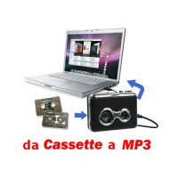 Walkman Convertire trasformare da Audio cassetta in Mp3 con Usb per pc