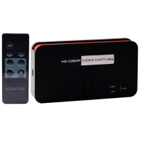 VideoCapture EzCAP284 acquisizione Full-HD Registrazione Audio/Video Hdmi, Rca, con telecomando