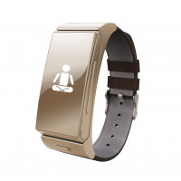 Sportwatch bluetooth orologio con auricolari integrato U smart Apk per android ios colore oro