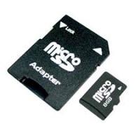 Memory Card microSD 8gb con adattatore SD
