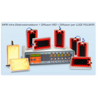 MP6 Infra Completo Miapharma Elettrostimolatore, Infrarossi, Luce Pulsata