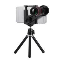 Optical zoom moltiplicatore focale 12x 330mm tele obiettivo universale smartphone con treppiedi