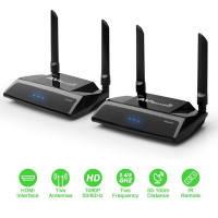 Trasmettitore ricevitore Video HDMI Full HD hdcp senza fili AV sender Tv Decoder Sky wireless