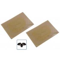 2 Pad in gel cuscinetti adesivi ricambi per Gymform Six Pack Reflyx Tech 2 per tutti gli elettrostimolatori muscolari