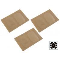 6 Pad elettrodi in gel cuscinetto adesivo di ricambio per gymform six pack Reflyx Tech 6 e similari stimolatore muscolare