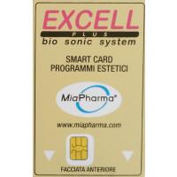 Smart card scheda magnetica programmi estetici per ultrasuoni  Excell Sonimed miapharma