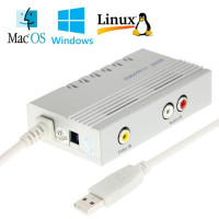 Video Capture AV-in per Win Mac Android Linux Usb acquisizione DVR Registrazione Audio Video grabber