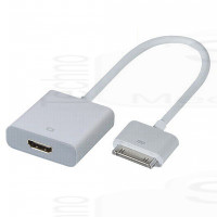 Adattatore (20cm) Audio Video Hdmi iPad, iPhone 4 4S 3G 3GS