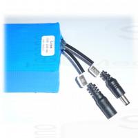 Pacco batteria ricaricabile 12V Litio li-ion 3S1p 10,8-12,6 3000mAh 83x63x23mm 170g lithium battery