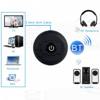 Trasmettitore BlueTooth Audio stereo Transmitter multi point per Tv Mp3 Cuffie con pila litio 5v usb jack 3.5
