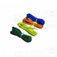 Kit 4 cavetti ricambi compatibile con elettrostimolatore muscolare Tesmed Max 5 830 power 7.8 bipolari a spinotto