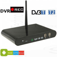 DVB internet TV Box Mediacenter Player Recorder Android Ricevitore DVB-T2