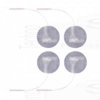 4 Elettrodi Fiab cerotti adesivi rotondi piccoli diametro 3cm elettrostimolazione viso seno compatibili con spinotto tesmed
