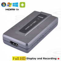 Video Capture recorder usb3 per Pc Win Android Mac Linux acquisizione ingresso Hdmi input Full HD Registratore