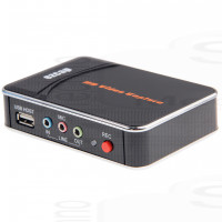 Video Gaming Capture EZcap FullHD DVR Recording Audio/Video AVin Hdmi Rgb Mic