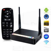 Android Box Ultra HD Measy B2A Wifi 3D FullHD 3 Host Usb Lan SD