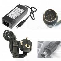 Alimentatore trasformatore 12V 5V 2A power adapter mini din 6 pin ps2 power plug kycon per box mediacenter
