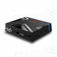 Mini PC Android 9 box hybridtv Ricevitore TV Dvb-T2 S2 C 4K Wifi Bluetooth Videoregistratore smart tv