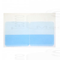 12 Patch in gel adesivo conduttivo ricambio per rigenerare elettrodi adesivi silicone gomma cintura Gymform abs