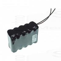 Pacco Batteria ricaricabile 12V 2700mah effettivi Ni-Mh 10 pile stilo AA 74x30x51mm alta qualità Rechargeable battery