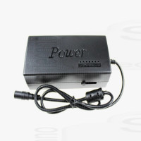 Power supply Alimentatore caricatore adattatore universale regolabile DC 12v 15v 16v 18v 19v 20v 24v 5A 8 Jack