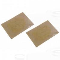 2 Pad in gel cuscinetti adesivi ricambio Fitpad 6x3 Gymform Six Pack Reflyx Tech 2 per tutti gli elettrostimolatori muscolari
